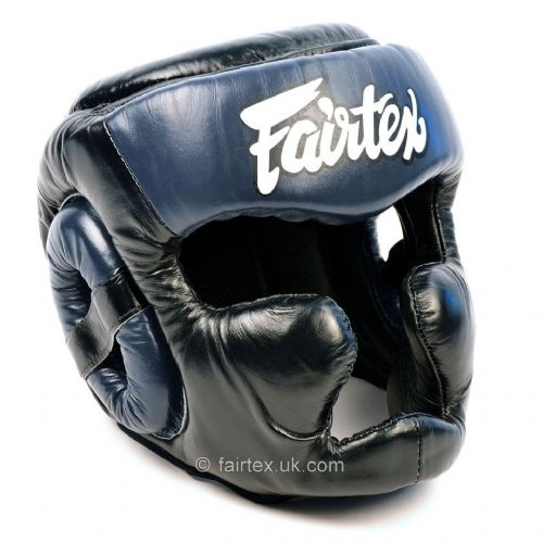Fairtex Full Coverage Head Guard Black/Blue